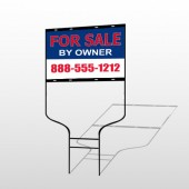 Sale By Owner 31 Round Rod Sign
