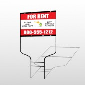 Rent Key Chain 361 Round Rod Sign