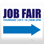 Job Fair Sign Panel