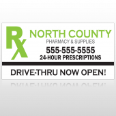 Rx North County 105 Custom Decal