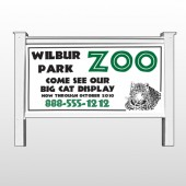 "Zoo 127 48""H x 96""W Site Sign"