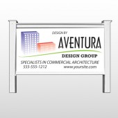 "Architect 25  48""H x 96""W Site Sign"