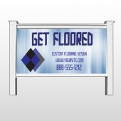 Blue Checker 249 48&quot;H x 96&quot;W Site Sign
