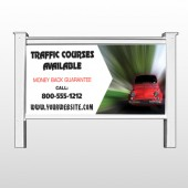 "Car Traffic 153 48""H x 96""W Site Sign"