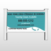 Classy Blue 160 48&quot;H x 96&quot;W Site Sign