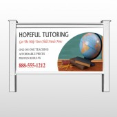 "Globe Chalk 158 48""H x 96""W Site Sign"