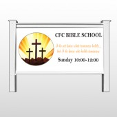 Shining Cross 161 48&quot;H x 96&quot;W Site Sign