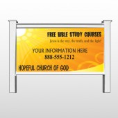 Sun Rays 165 48&quot;H x 96&quot;W Site Sign