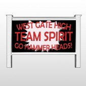 "Team 43 48""H x 96""W Site Sign"