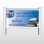 "Traffic Cars 151 48""H x 96""W Site Sign"