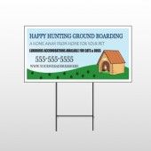 Hunting 301 Wire Frame Sign