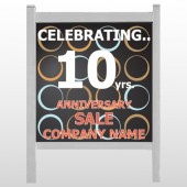 Anniversary Sale 14 48&quot; H x 48&quot;W Sign Site