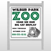 "Zoo 127 48""H x 48""w Site Sign"