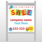 Square Circle Sale 15 48&quot;H x 48&quot;W Site Sign