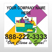Cleaning Supplies 451 Custom Decal