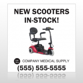 New Scooter 100 Custom Decal