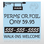 Woman Hair Design 289 Custom Decal