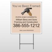 Framed 236 Wire Frame Sign