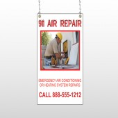 AC Repair 251 Window Sign