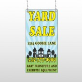 Neighbor Sale 549 Window Sign