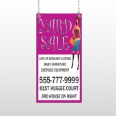 Pink Girl Sale 552 Window Sign
