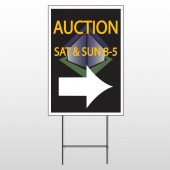 Auction Corner 701 Wire Frame Sign